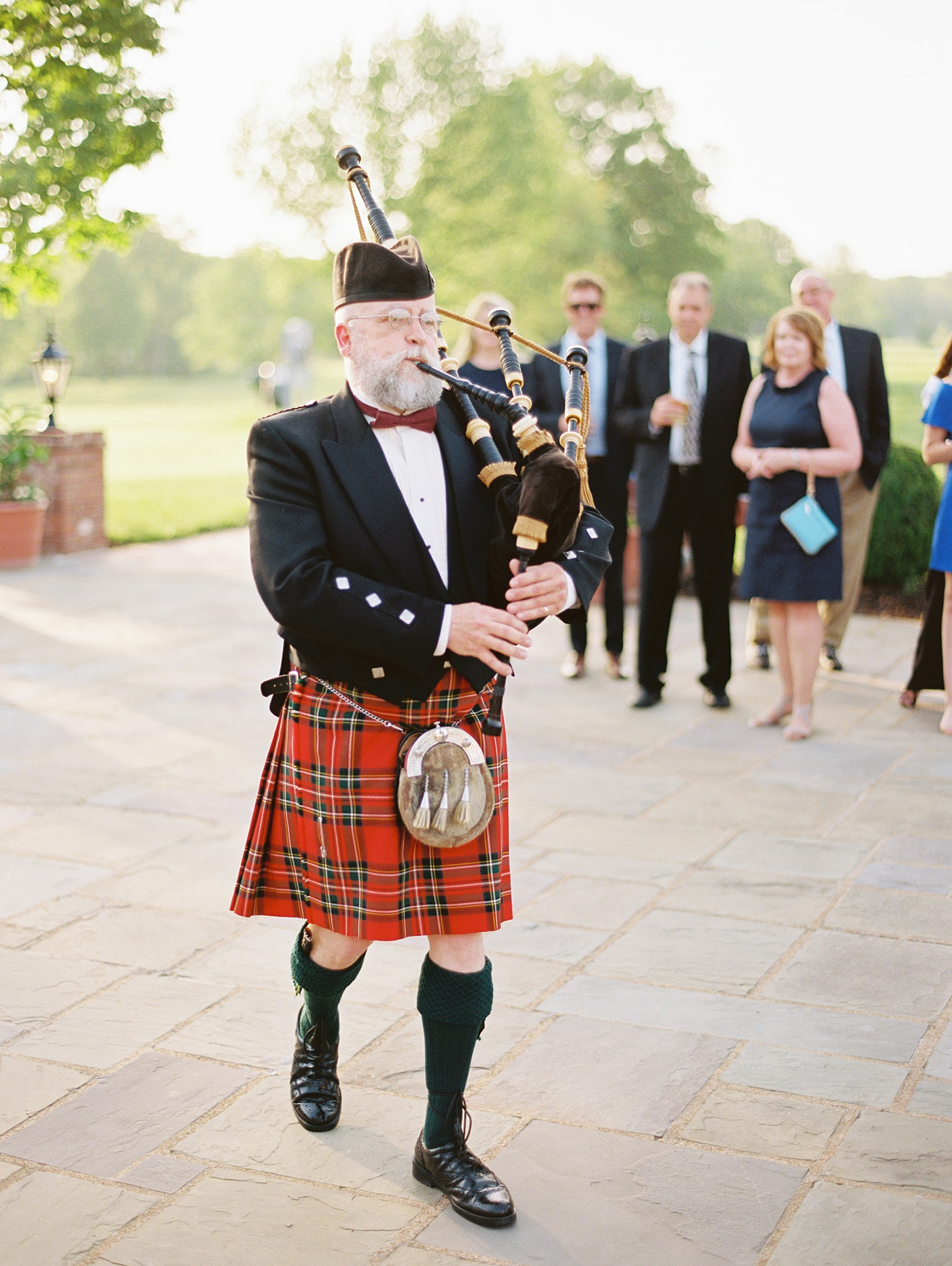 scottish bag pipes wedding