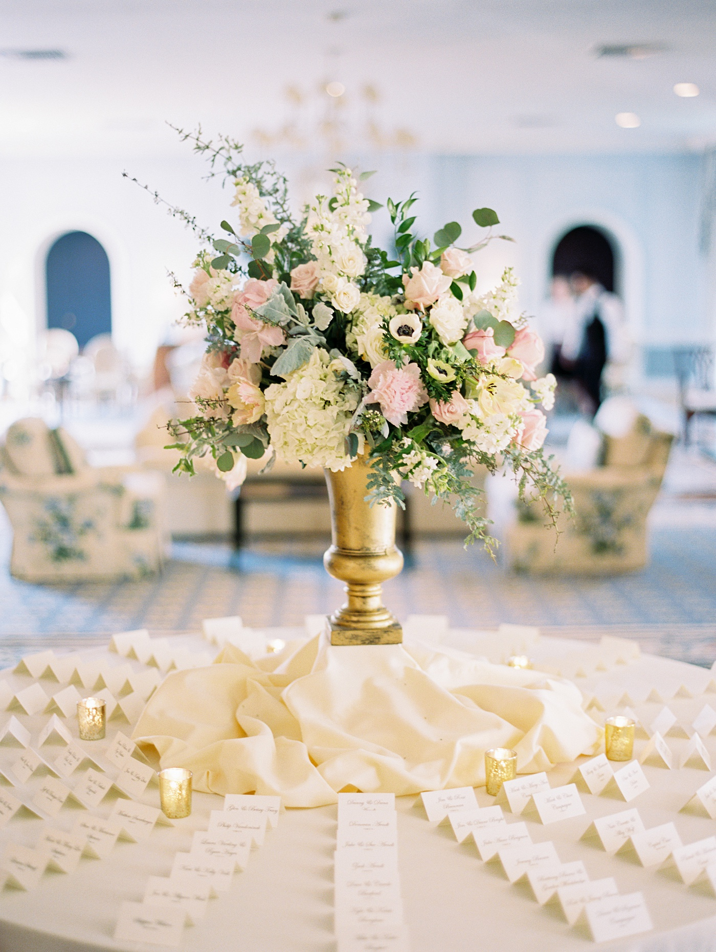 wedding details at bellerive country club
