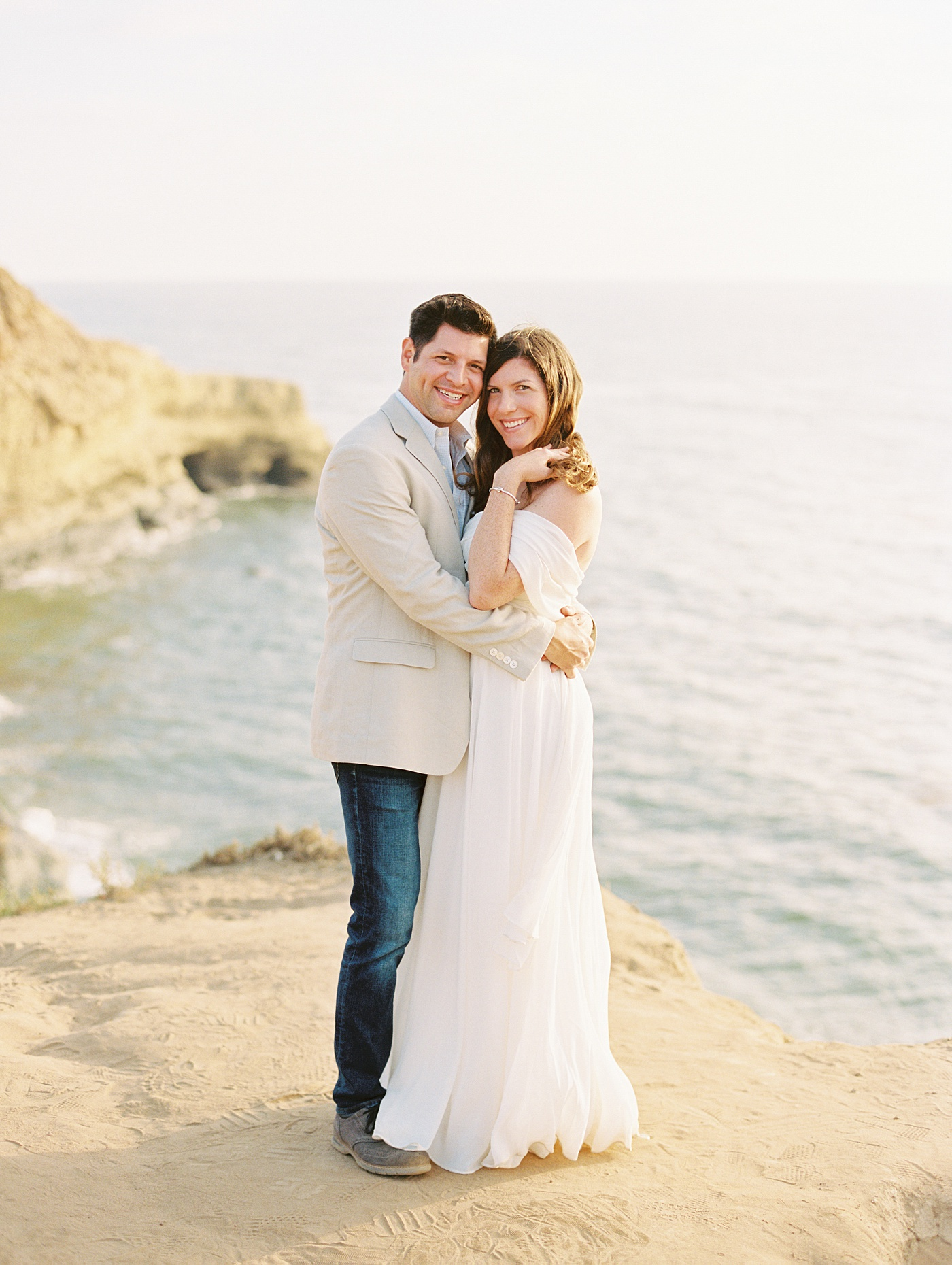 sunset bluffs engagement session