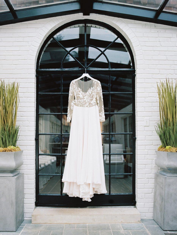 brides wedding gown