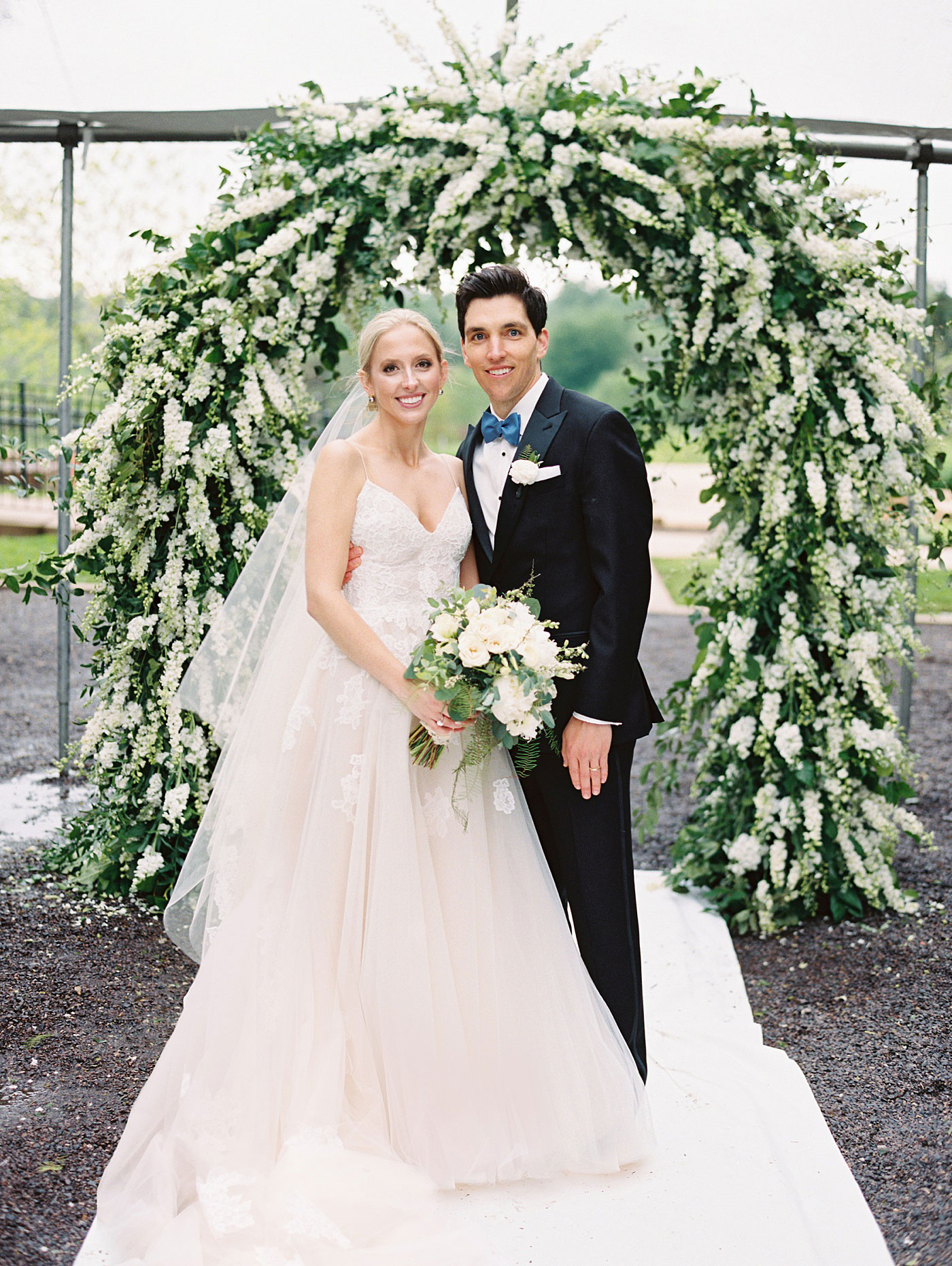 World's Fair Pavilion Wedding