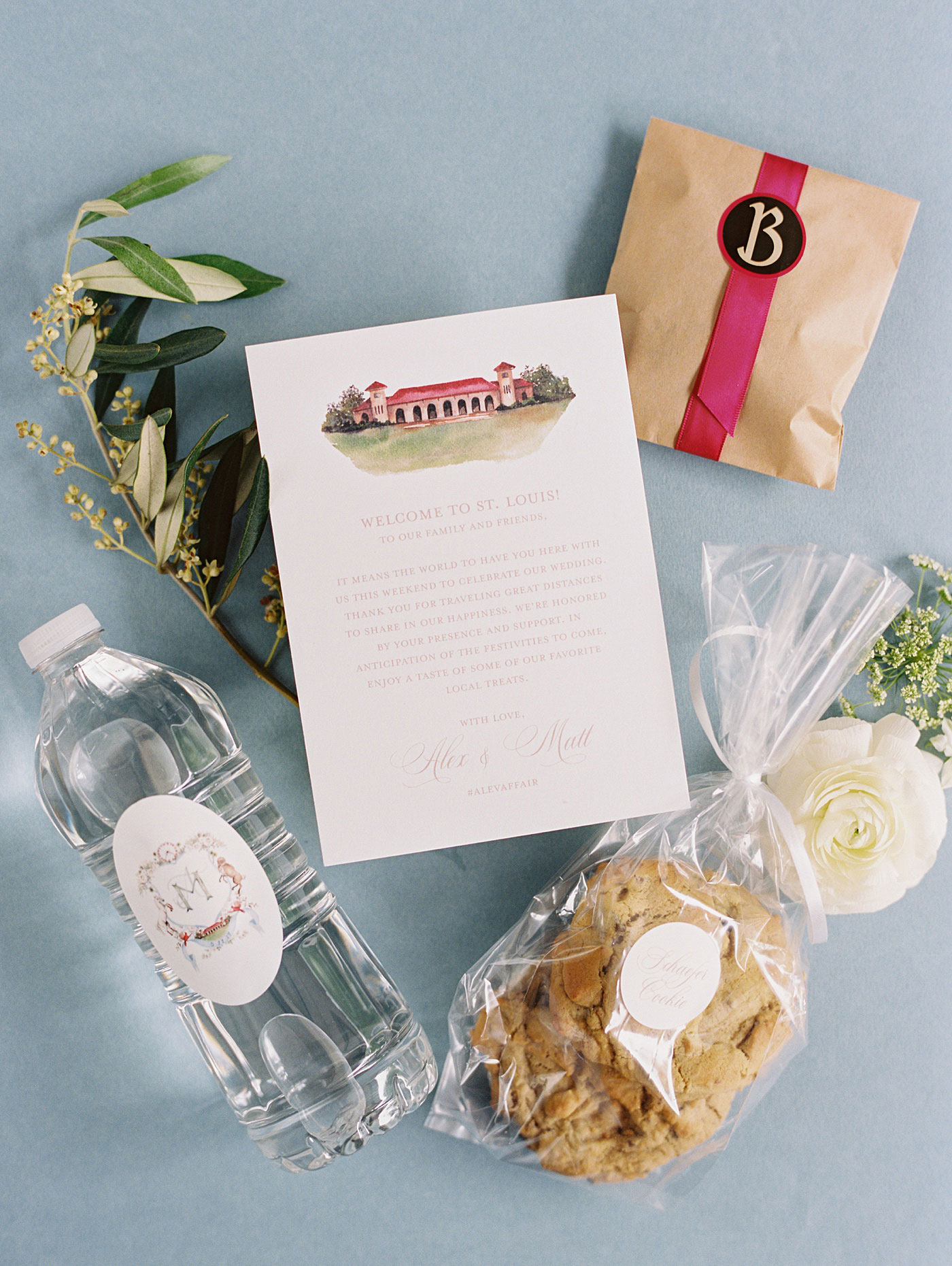 st louis wedding welcome bag