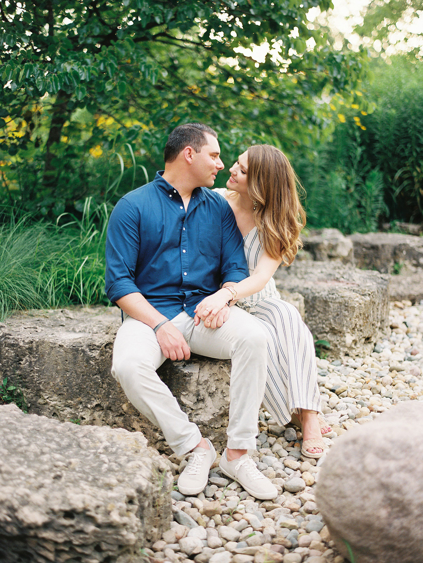 spring engagement in forest park