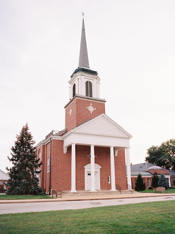 Ladue Chapel wedding