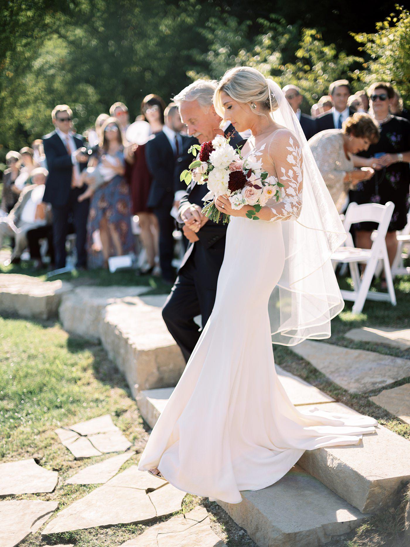 wedding at sunflower hill farm