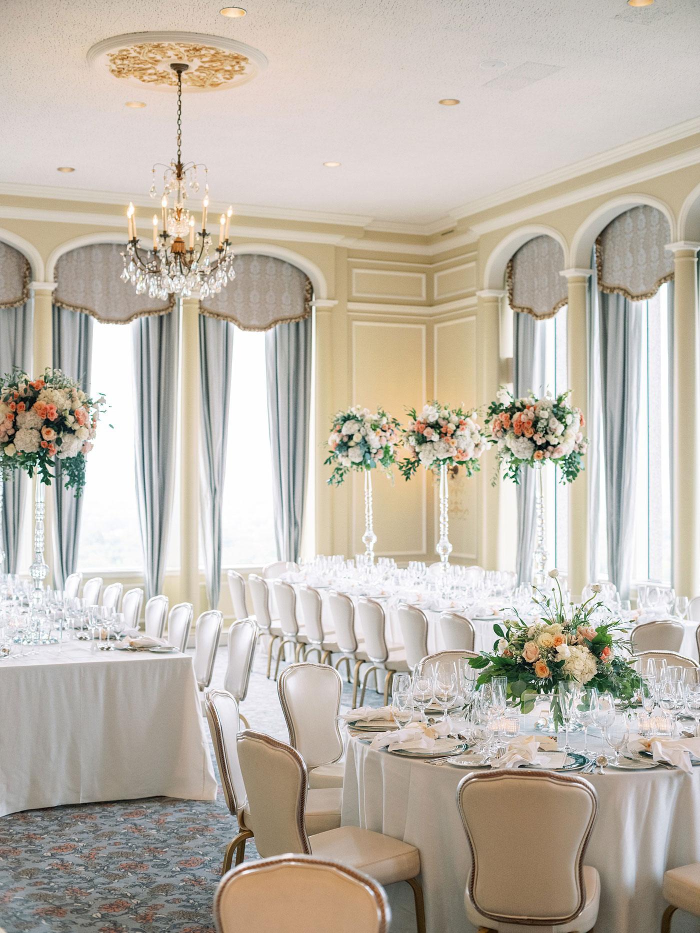 st. louis club wedding reception