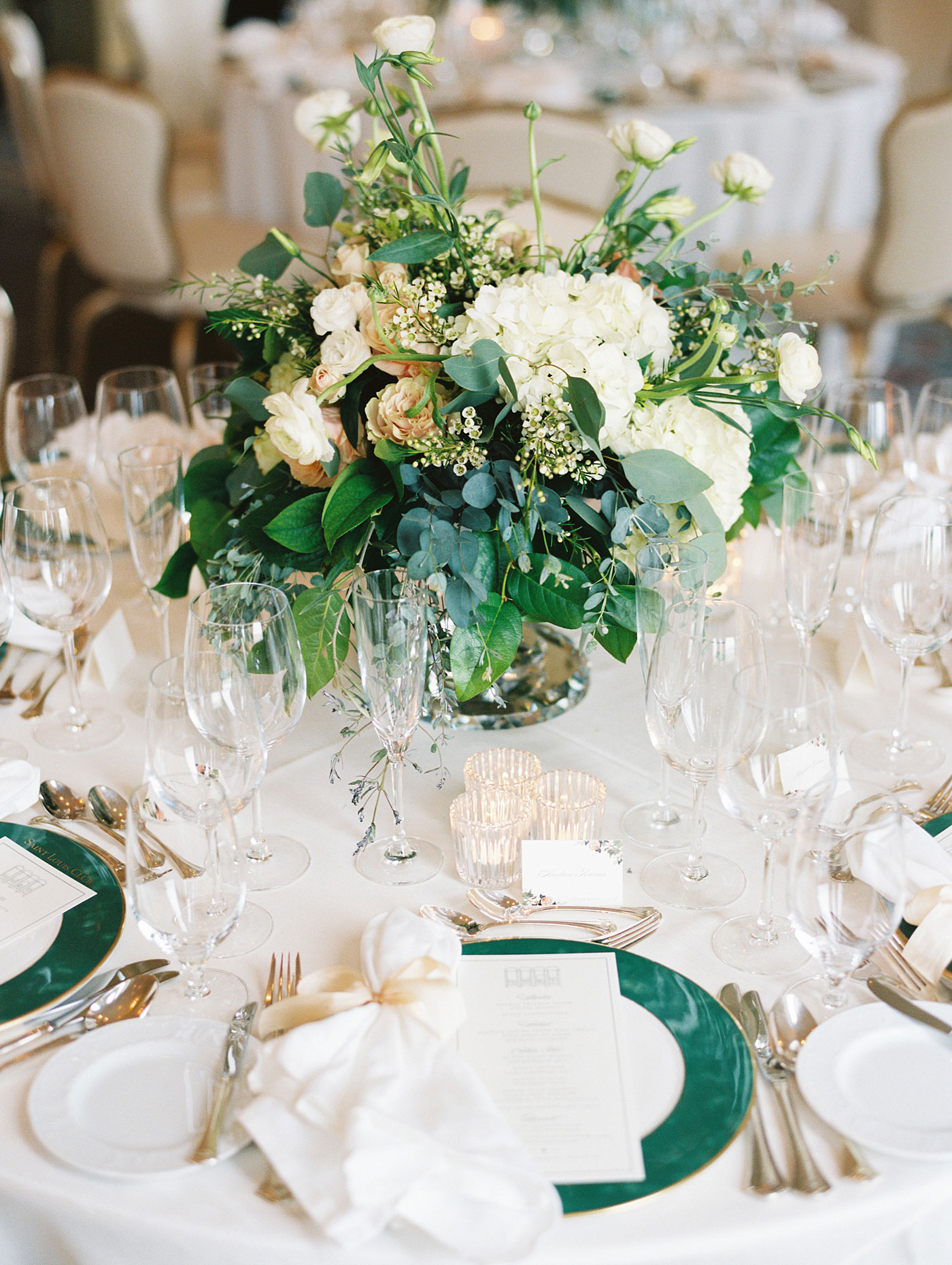 st louis club wedding details