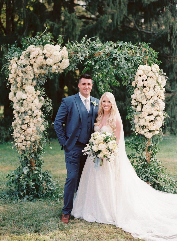 wedding at the Busch mansion