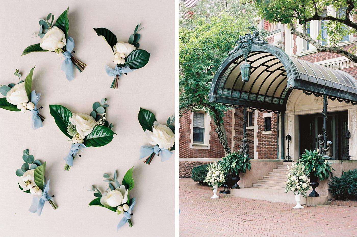 Busch Mansion entrance