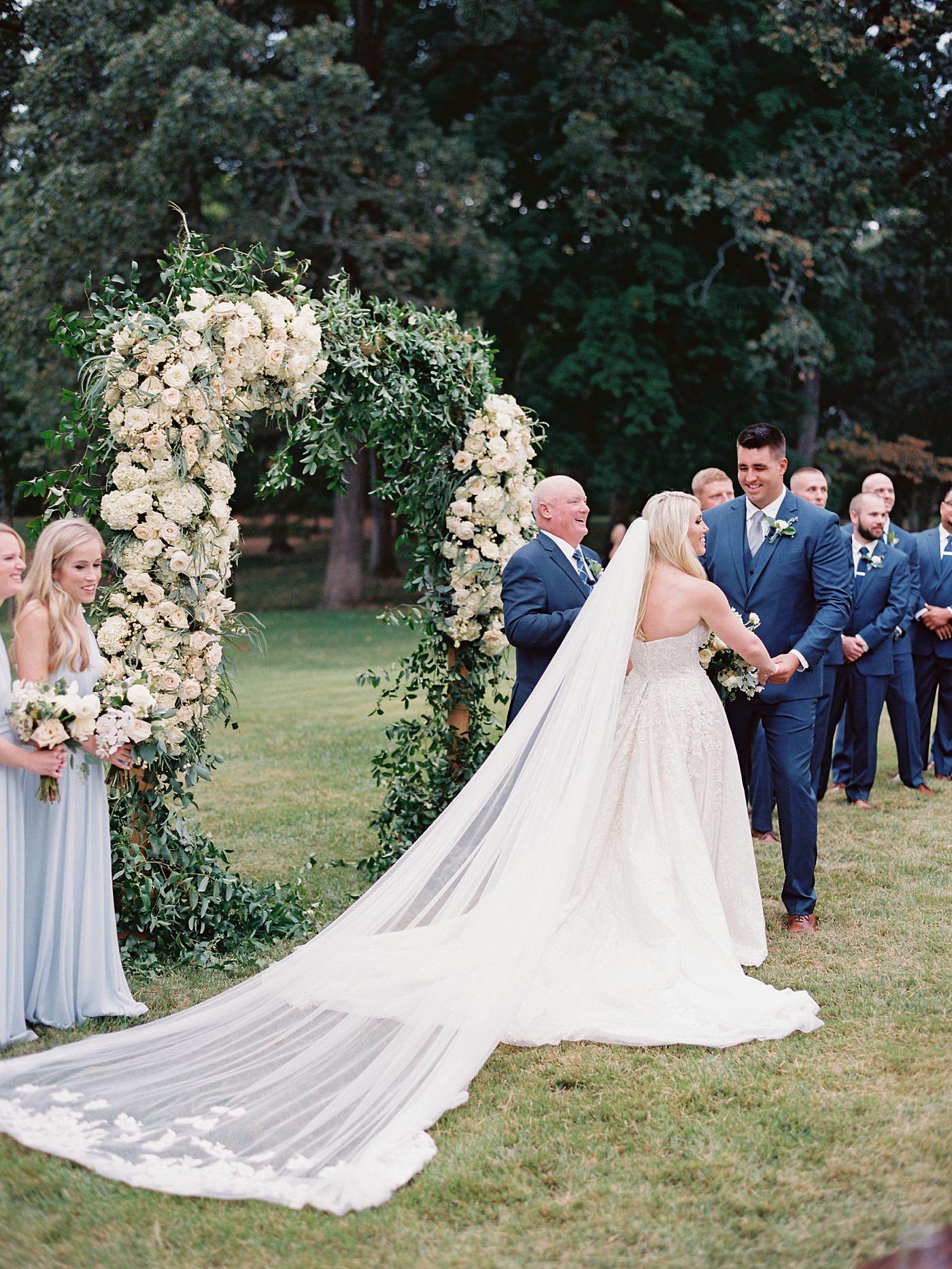 grant's farm wedding martha stewart