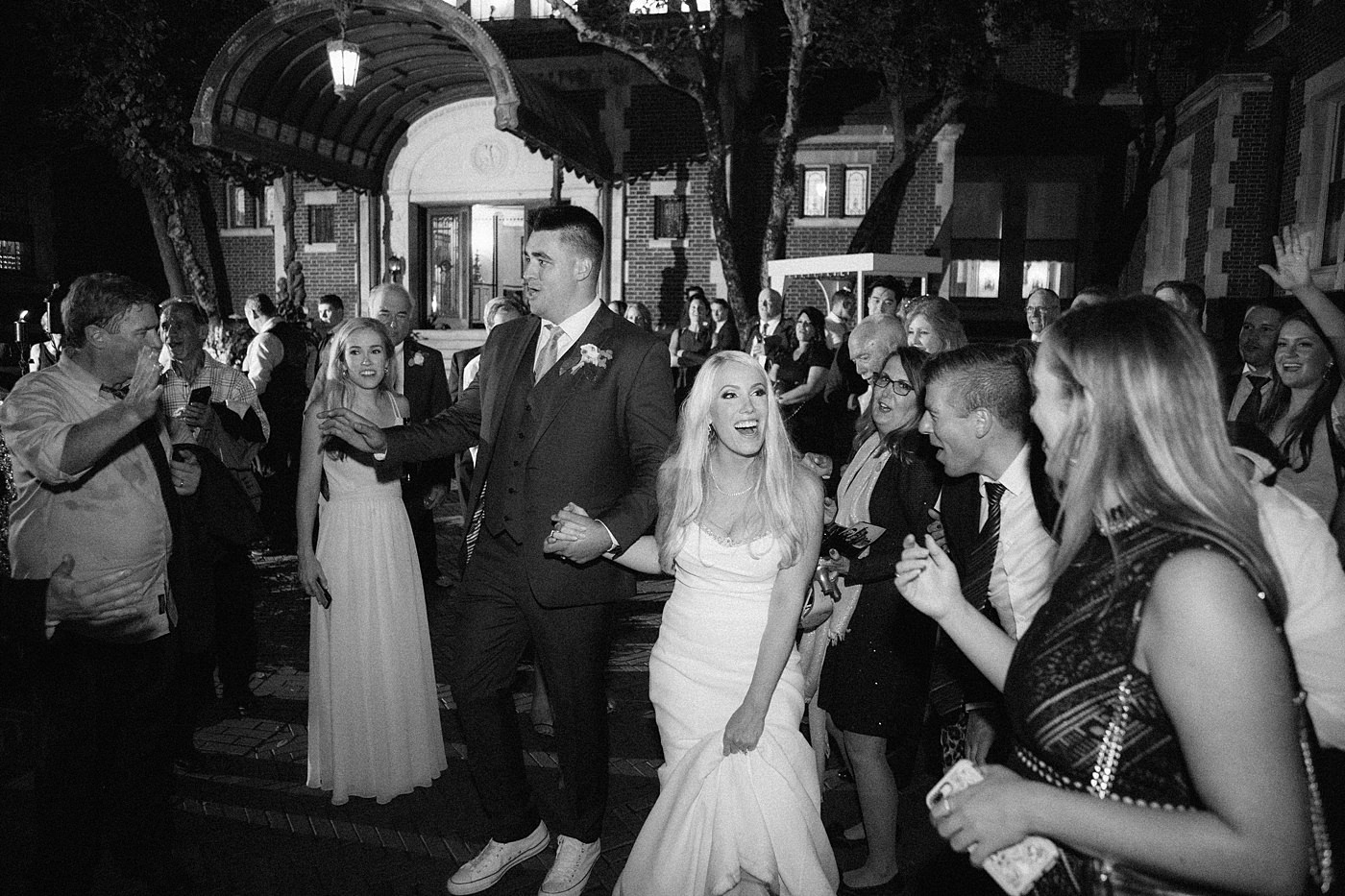 wedding grand exit