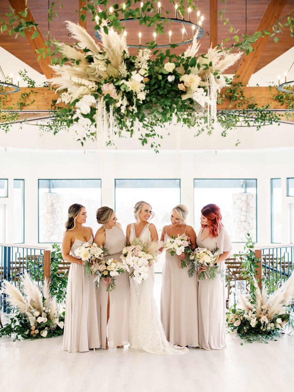 bello and blue wedding design