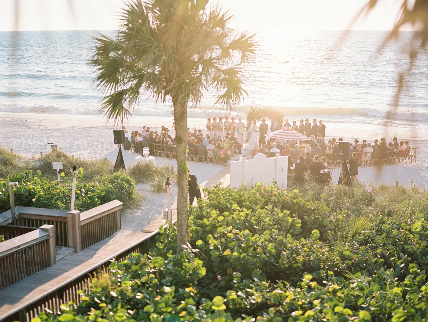 beach wedding ritz carlton naples